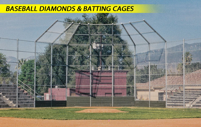 Baseball Diamonds & Batting Cages