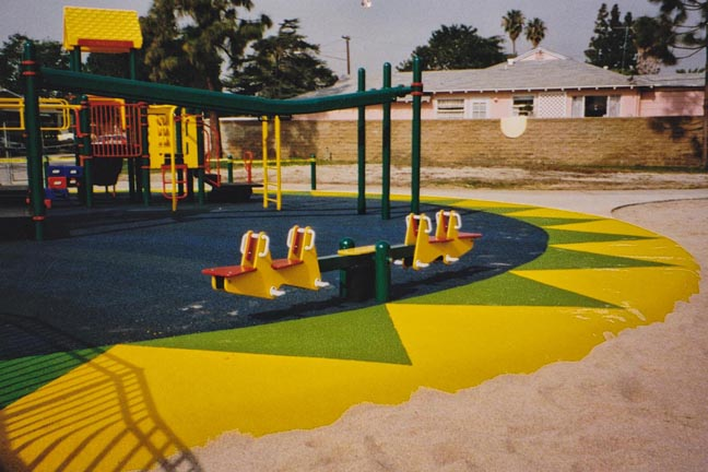 Playground & SpectraTurf Rubber Safety Surface - Culver City, CA