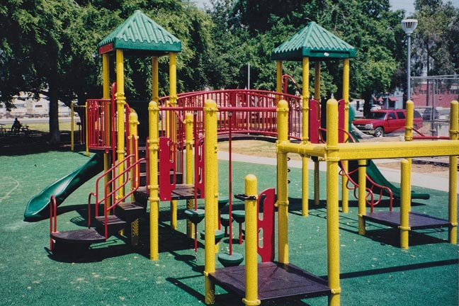 Playground & Rubber Play Surface