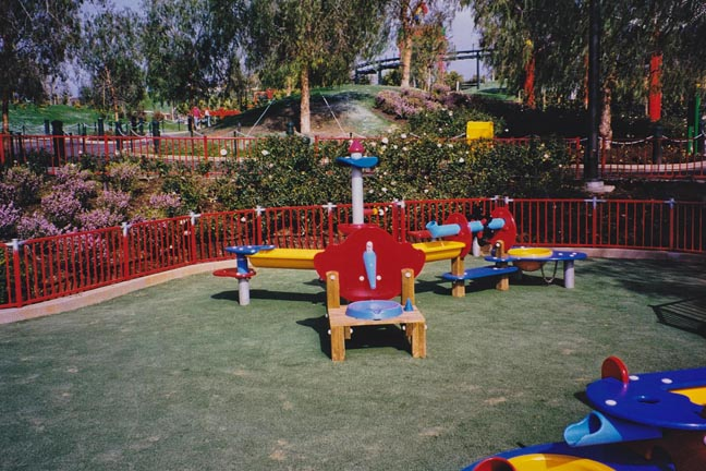 Rubber Safety Play Surface - Legoland California